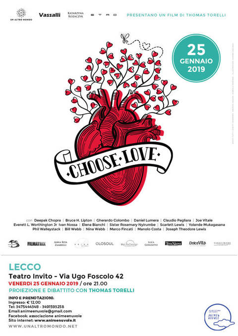 "Proiezione del film ""Choose Love"""