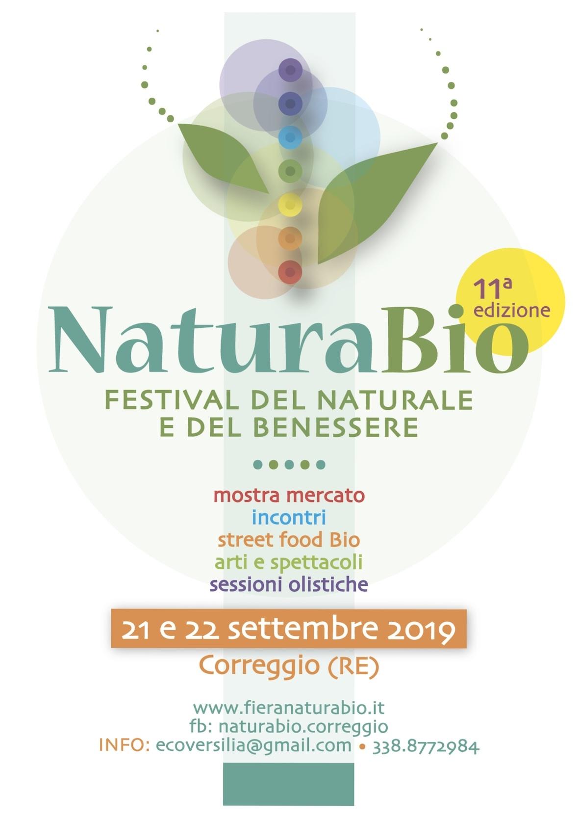 Natura Bio A Correggio Festival Del Naturale E Del Benessere Terra Nuova