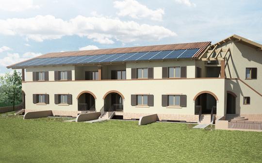 A roma la casa a consumo zero terra nuova for Stili di casa americani