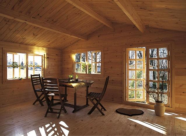Casa di legno s grazie terra nuova for Case di legno rustico