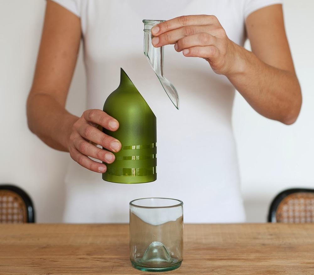 Lampadari Con Bottiglie Di Vetro ecobricolage: lampade e vetrate con bottiglie di vetro