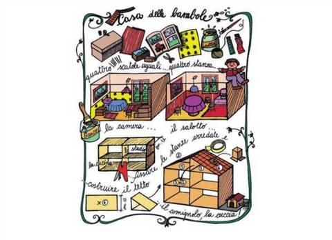Giocattoli fai da te la casa delle bambole terra nuova for Casa delle bambole fai da te
