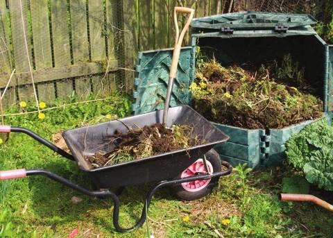 Il compost in giardino - Terra Nuova