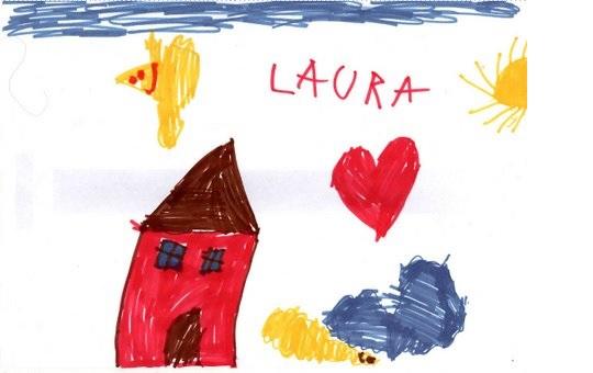 I disegni dei bimbi il test dei 4 elementi terra nuova for Disegno bambina da colorare