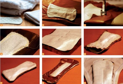 Assorbenti fai da te terra nuova - Porta asciugamani fai da te ...