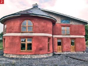 Costruire con le balle di paglia terra nuova - Costruire casa paglia ...