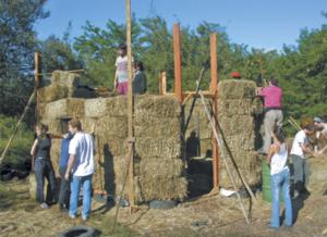 Ecovillaggi avanguardie d oltremare terra nuova for Piani di casa di balle di paglia