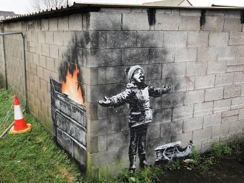 Costo Di Un Murales.Banksy A Port Talbot Un Murales Sull Inquinamento