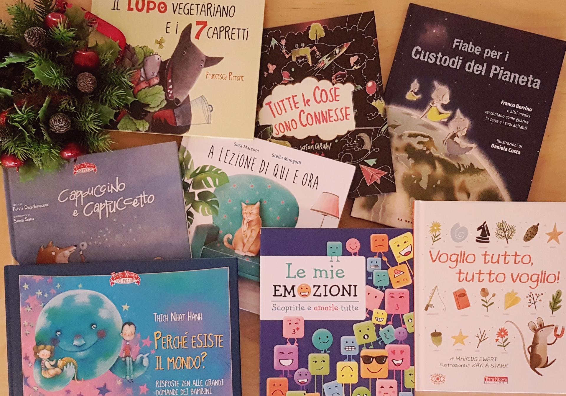 I libri per bambini da regalare a Natale Terra Nuova