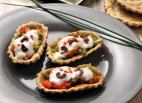 Ricetta Verdure Besciamella.Barchette Con Verdure E Besciamella Terra Nuova